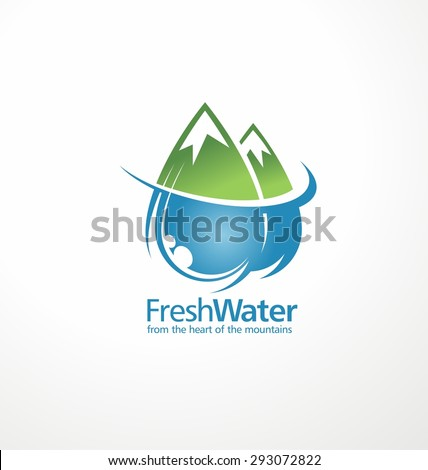 fresh water drops as part of