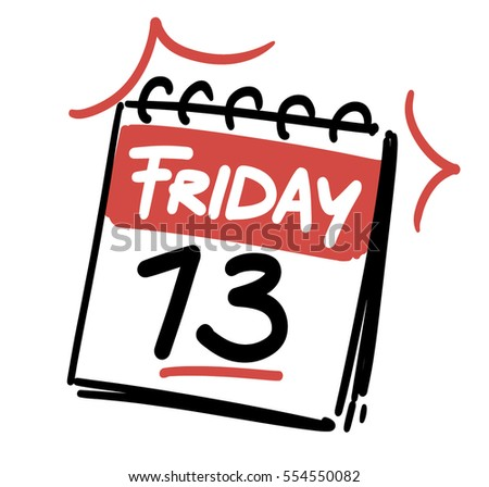 friday the 13th calendar date