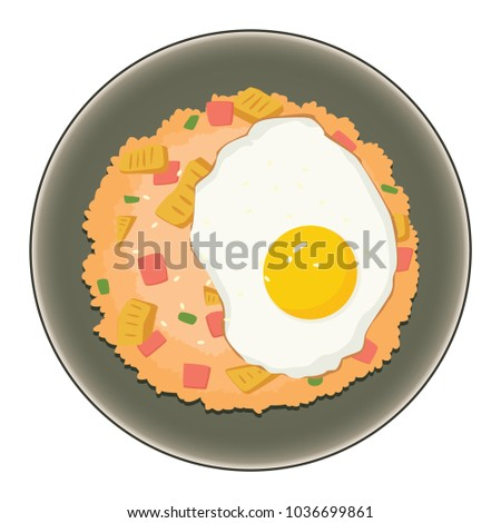 Fried Rice With Sunny Side up