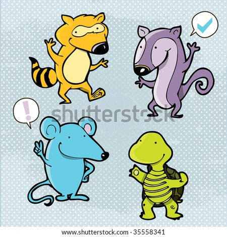 cartoon characters images. animal cartoon characters
