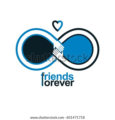 Vector Images Illustrations And Cliparts Friends Forever