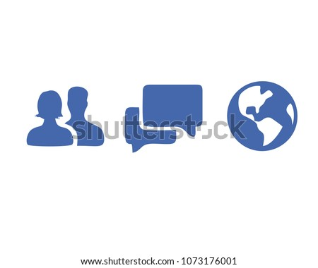 Friends Message Notification Vector