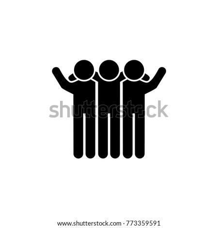 friends vector icon