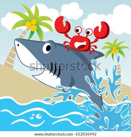 friendship between shark and