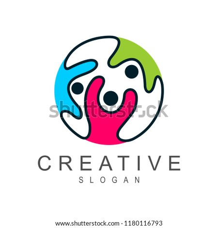 friendship logo,world unity,family world,kids support,corporate charity,charity unity,medical kid logo,charity kids,kids world logo