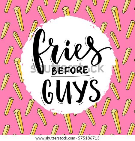 fries before guys feminism