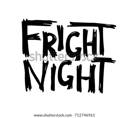 fright night halloween hand