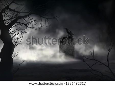frightening halloween realistic