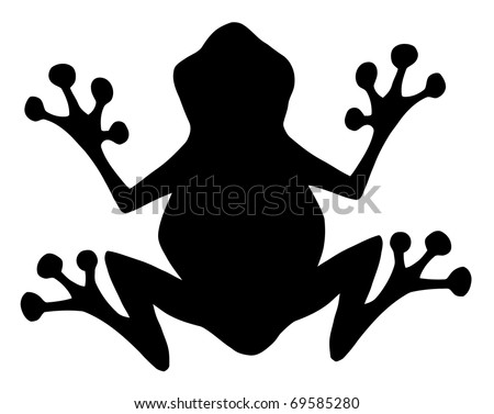free frog silhouette vector download free vector art stock rh vecteezy com Mushrooms Silhouette Vector Vector Illustration Silhouette