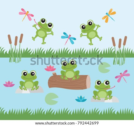 frog fun   happy frogs and