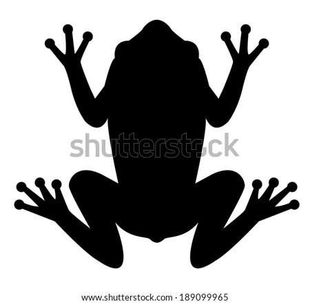 free frog silhouette vector download free vector art stock rh vecteezy com Mushrooms Silhouette Vector Silhouette Vector Clip Art
