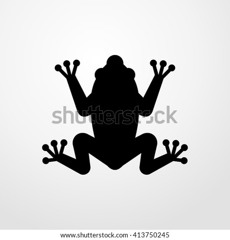 frog icon illustration