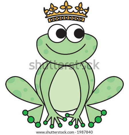 frog prince. Use just the frog, just the crown or both together
