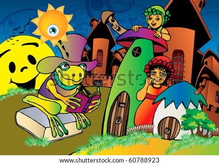 children reading books clip art. free clip art children