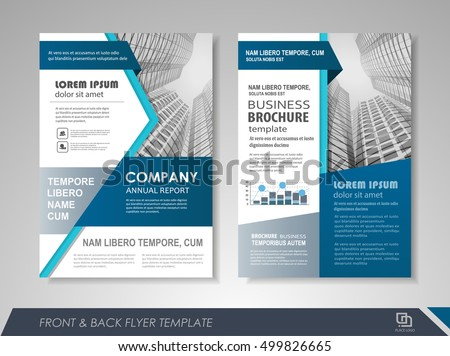 Abstract company leaflet template download free vector art stock front and back page annual report brochure flyer design vector template leaflet cover presentation abstract accmission Choice Image