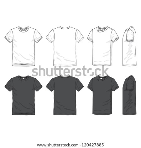 stock-vector-front-back-and-side-views-of-blank-t-shirt