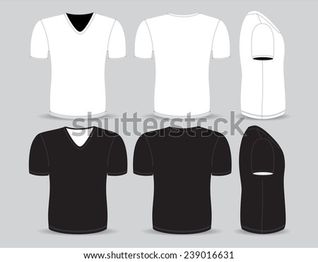 T Shirt Front Back Side Free Vector Download 3 171 Free Vector For