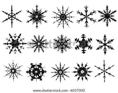 Snowflake Coloring on Paper Snowflake Pattern Template  How To Make A Cut Paper