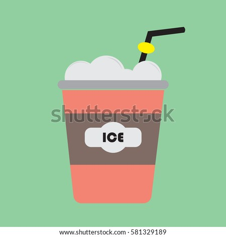 frozen coffee beverage with