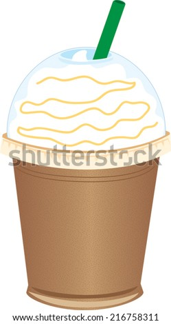Frozen Coffee To-Go Cup