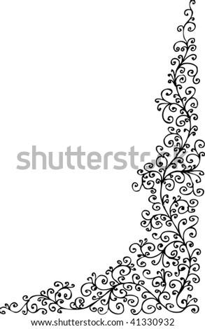 frozen pattern vignette eau
