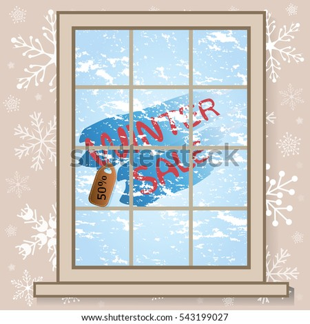 frozen window and the