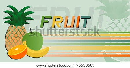 Fruit color style