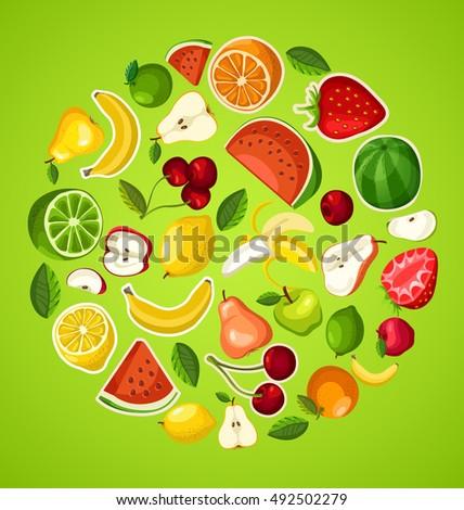 fruit festival   fruit elements