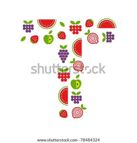 Fruit letter