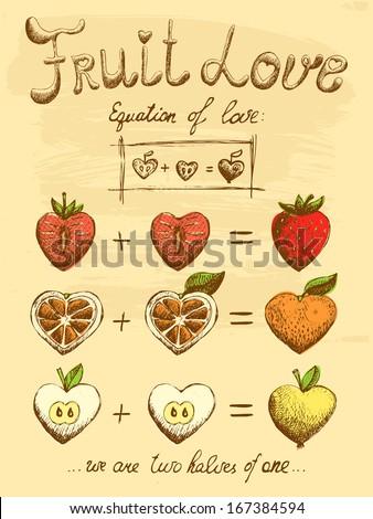 fruit love formula vintage