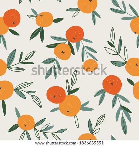 fruit seamless pattern in