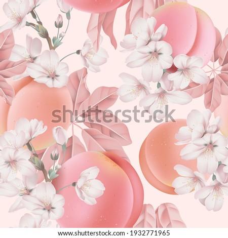 fruit seamless pattern  pastel