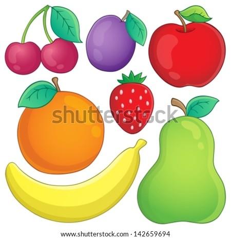 fruit theme image 3   eps10