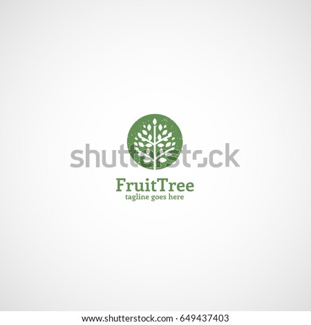 fruit tree logo