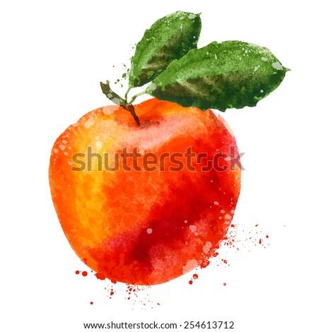 fruit vector logo design