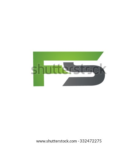 fs company linked letter logo