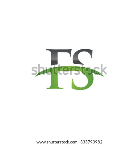 fs initial company green swoosh
