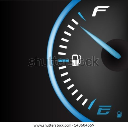 fuel gauge full