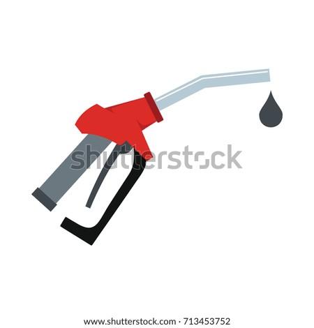 fuel gun icon vector