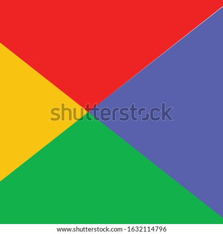 full color red blue yellow background vector google concept