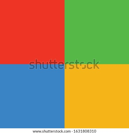 full color red blue yellow