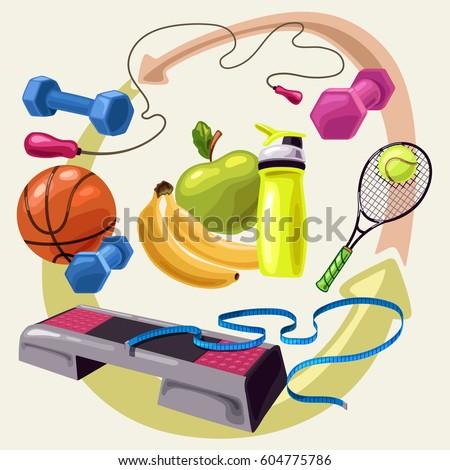 full complex of sport exercises