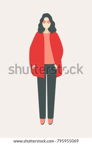 full length of a women's