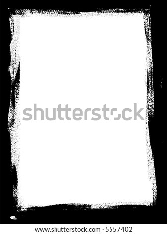 Full Page Paint Border - Can be used as a background, Backdrop, Border, Business Graphic etc