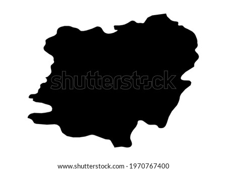 Fully editable, detailed vector map of Caras-Severin,Judetul Caras-Severin,Romania. The file is suitable for editing and printing of all sizes. Foto stock ©