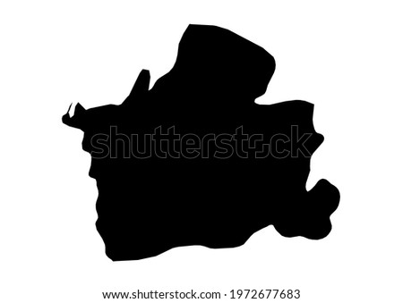 Fully editable, detailed vector map of El Oro,Provincia de El Oro,Ecuador. The file is suitable for editing and printing of all sizes.  Foto stock ©