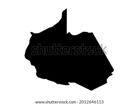 Fully editable detailed vector map of Madre de Dios-Region de Madre de Dios-Peru . The file is suitable for editing and printing of all sizes. Foto stock ©