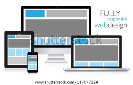 fully responsive web design in