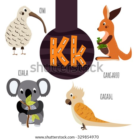 fun animal letters of the