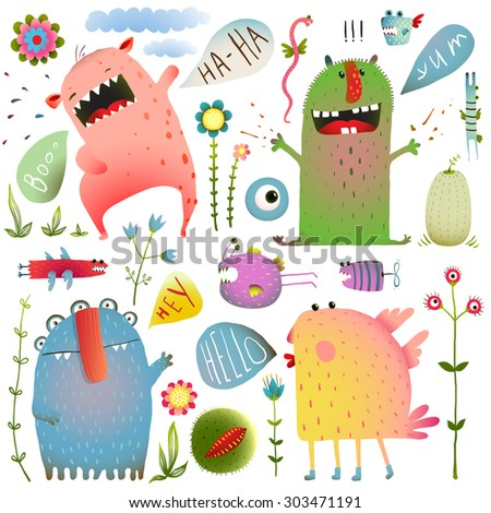 fun cute monsters for kids